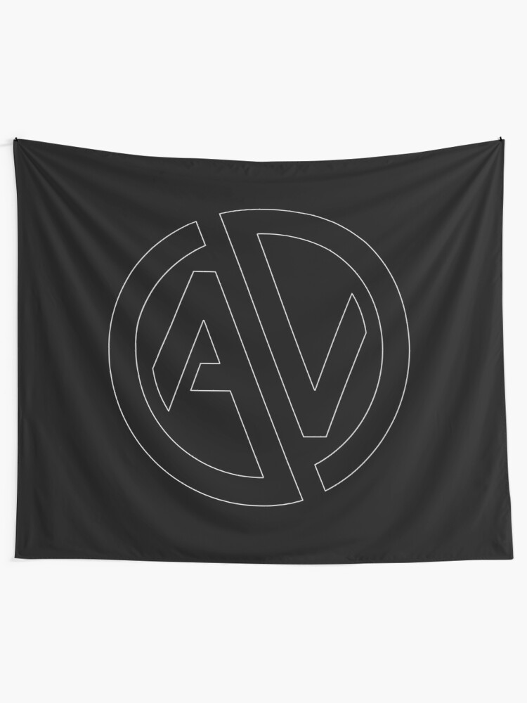 Alternate view of Aquiver Esports Tapestry