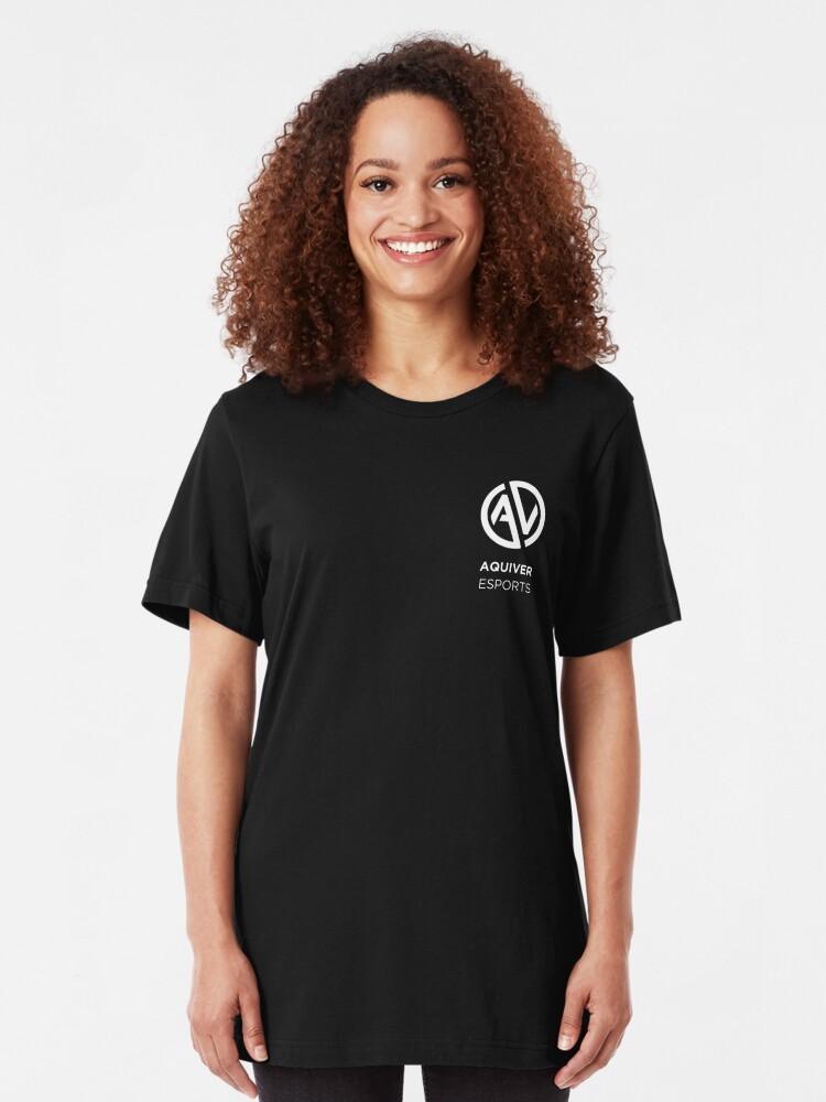 Alternate view of Aquiver Esports Slim Fit T-Shirt