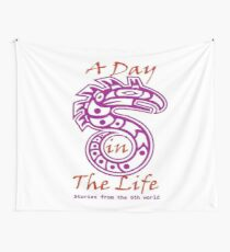 A Day in the Life Logo #2 Wall Tapestry
