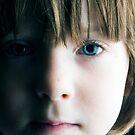 Low Key Childs Portrait by Robert Ellis