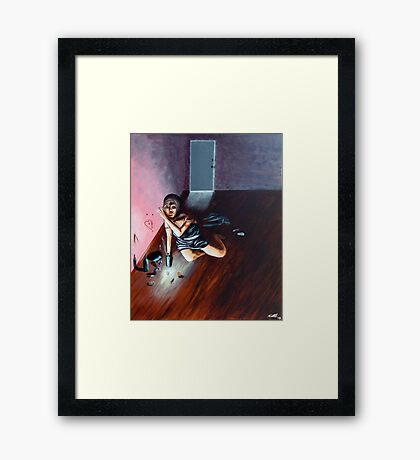 The Girl in The Other Room Framed Print