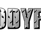 BODYFIT Diamond Plate Logo by bodyfit