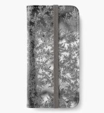 Ice flowers iPhone Wallet/Case/Skin