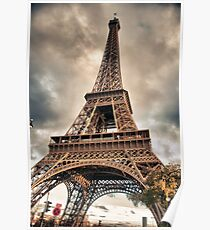 Eiffel Tower in Paris, France Poster
