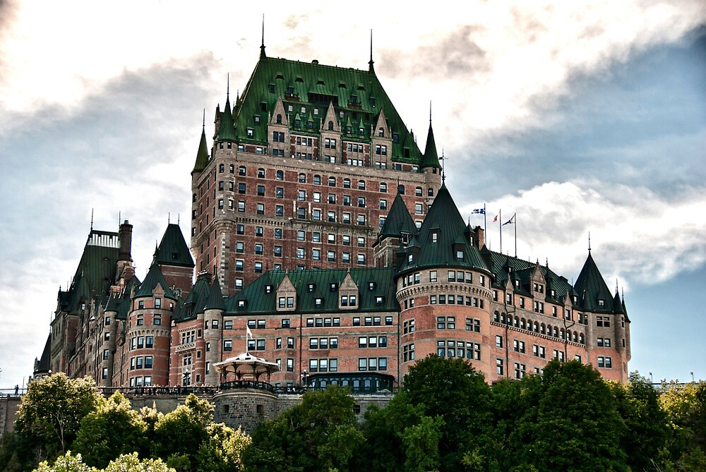 Quot Chateau De Frontenac In Quebec City Canada Quot By Giovanni