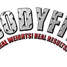 BODYFIT Diamond Plate Real Weights Real Results Logo by bodyfit