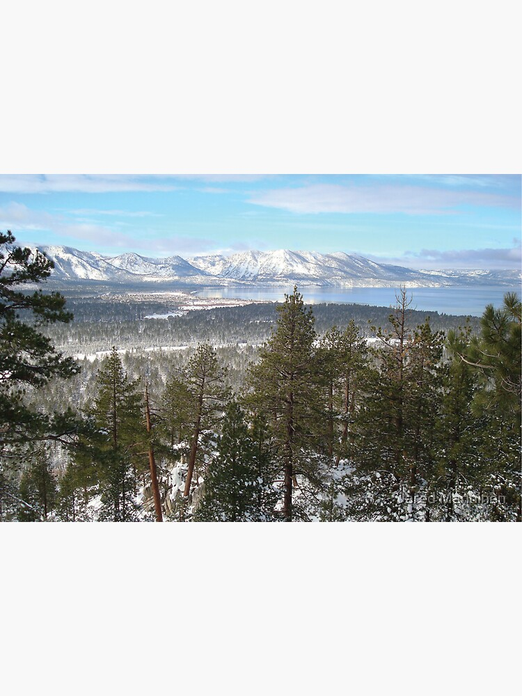Lake Tahoe in the Winter by JaredManninen