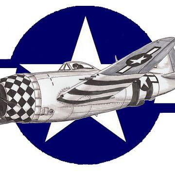 P-47 Thunderbolt by dangerpowers123