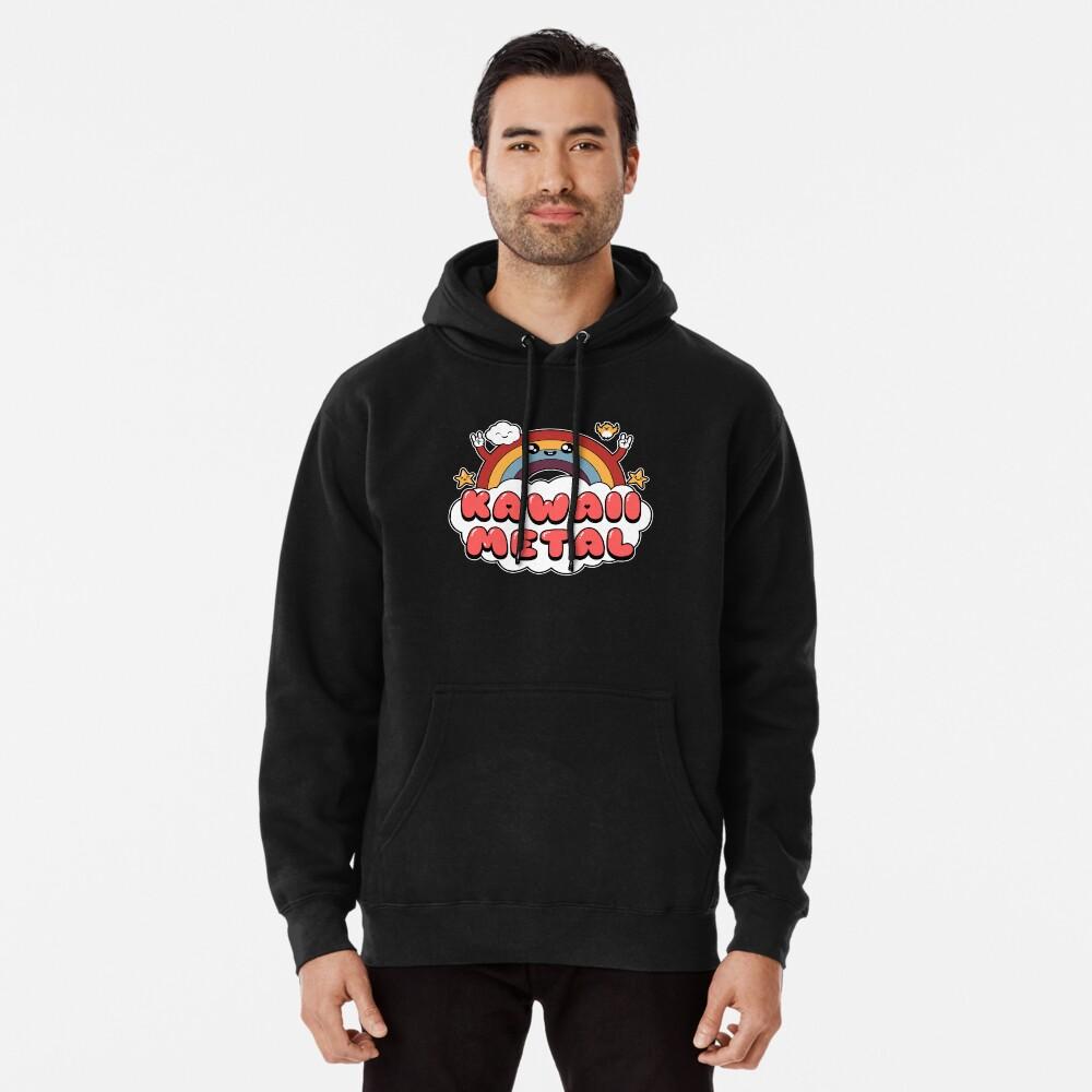 Kawaii Metal Pullover Hoodie