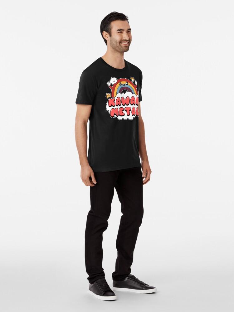 Alternate view of Kawaii Metal Premium T-Shirt
