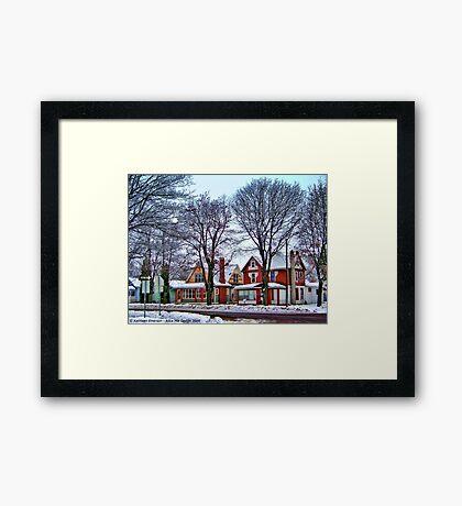 Color Coordinated Framed Print
