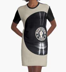 Northern Soul Vinyl  Graphic T-Shirt Dress