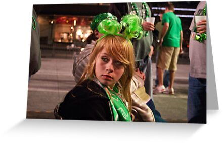 Little Miss Saint Paddys Day by Phil Campus