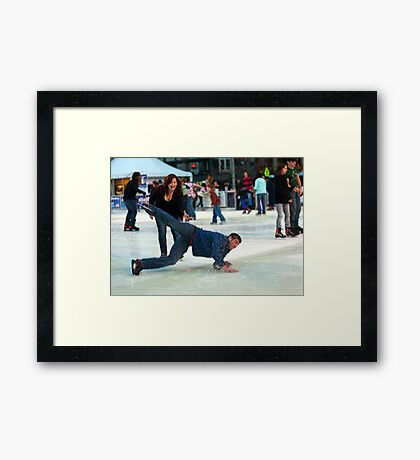 Honey! This isn't Funny Framed Print