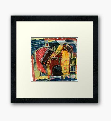 street scape Framed Print