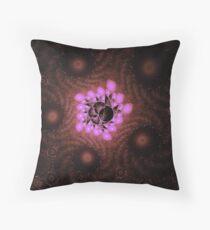 Escher lights Throw Pillow