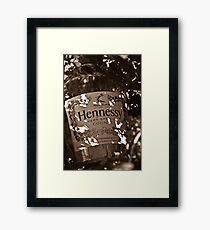 Booze Framed Print