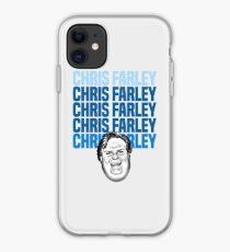 Chris Farley Nostalgie Glückliches Gesicht Grafik iPhone-Hülle & Cover