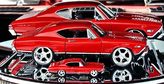 Red Hot Wheels by luckylarue