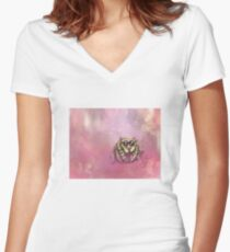 The Cure for Arachnophobia  Fitted V-Neck T-Shirt