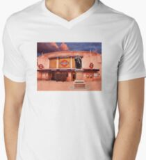Tooting Broadway Station, SW17, London Men's V-Neck T-Shirt