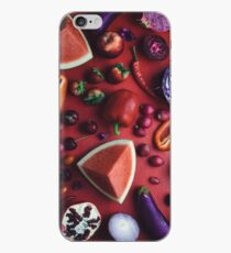 Red and purple food iPhone Case
