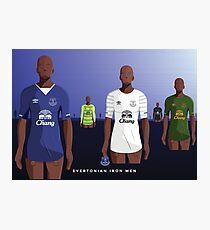 Everton Iron Men Photographic Print