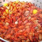 Crawfish Boil On Sunday by Wanda Raines