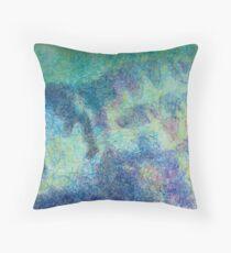 'Winter patterns, west Highlands' Throw Pillow