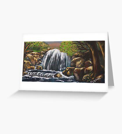 Waterfall I Greeting Card