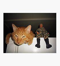 Frankie & Sgt. Major Joe Photographic Print
