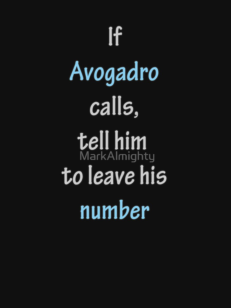 Avogadro's Number by MarkAlmighty