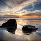 West Coast Sundown by Michael Treloar