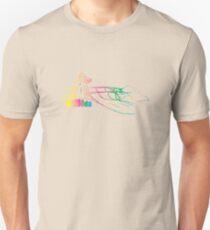 Mazooda_ChickWave_Rainbow Slim Fit T-Shirt
