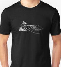 Mazooda_ChickWave_White Slim Fit T-Shirt