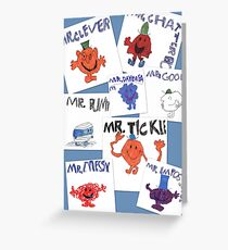 More of Jimmy's Mr Men Greeting Card