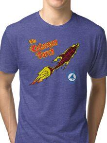 The Cetacean Torch Tri-blend T-Shirt