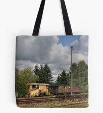 Cranzahl Station - The Snowplow Tote Bag