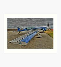 Extra 300L HDR- Busselton Airshow West Australia Art Print