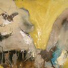 Nude on wood by James Kearns