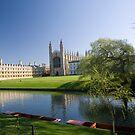 Kings College in Spring by Robert Ellis
