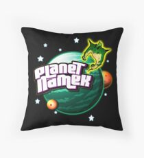 Planet Namek (Stars) Throw Pillow