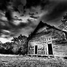 Old Church - Bowie , Texas Hwy 3034 by jphall