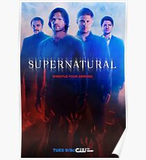 Supernatural Posters | Redbubble