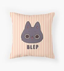 BLEP Throw Pillow