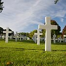 Madingley Americam War Cemetery  by Robert Ellis