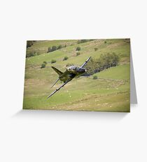 Hawk T1a XX195 approaching CAD West Greeting Card