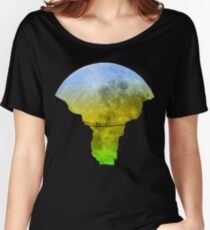 Moon Crossing Women's Relaxed Fit T-Shirt