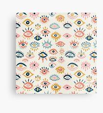 Mystic Eyes - Primäre Palette Metallbild