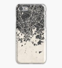 Helsinki map iPhone Case/Skin